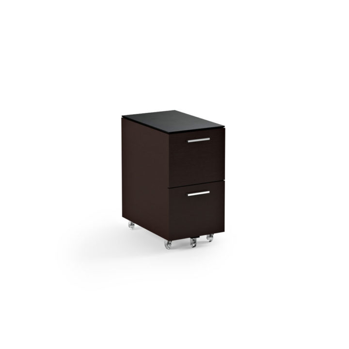... The Sequel Tall Mobile File Cabinet In Espresso By BDI With Locking  Wheels ...