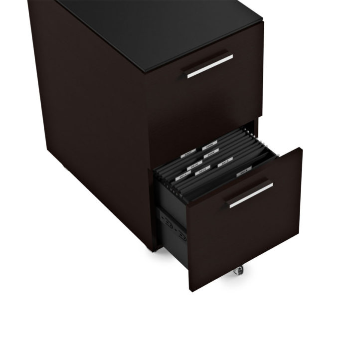 ... The Sequel Tall Mobile File Cabinet In Espresso By BDI With Ample File  Storage