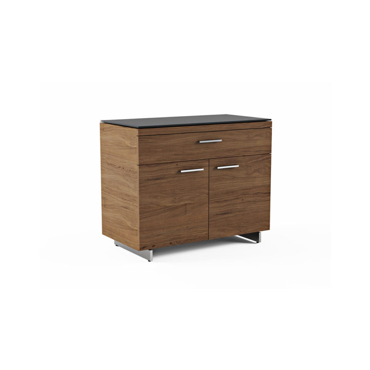 ... The Sequel Storage Cabinet By BDI In Walnut With Adjustable Shelves And Storage  Drawer ...