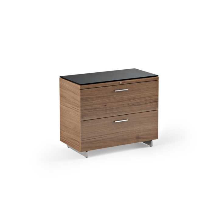 ... The Sequel Lateral File Cabinet In Walnut By BDI Convenient File  Storage ...