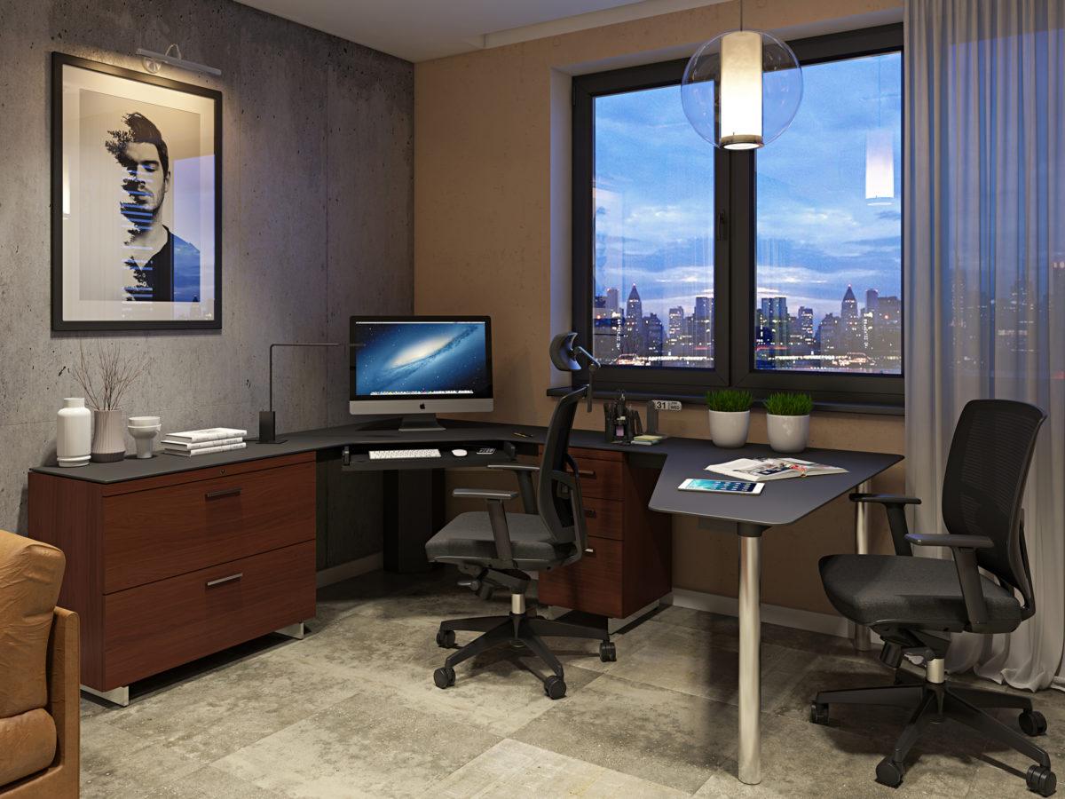 Sequel Corner Desk 6019 BDI