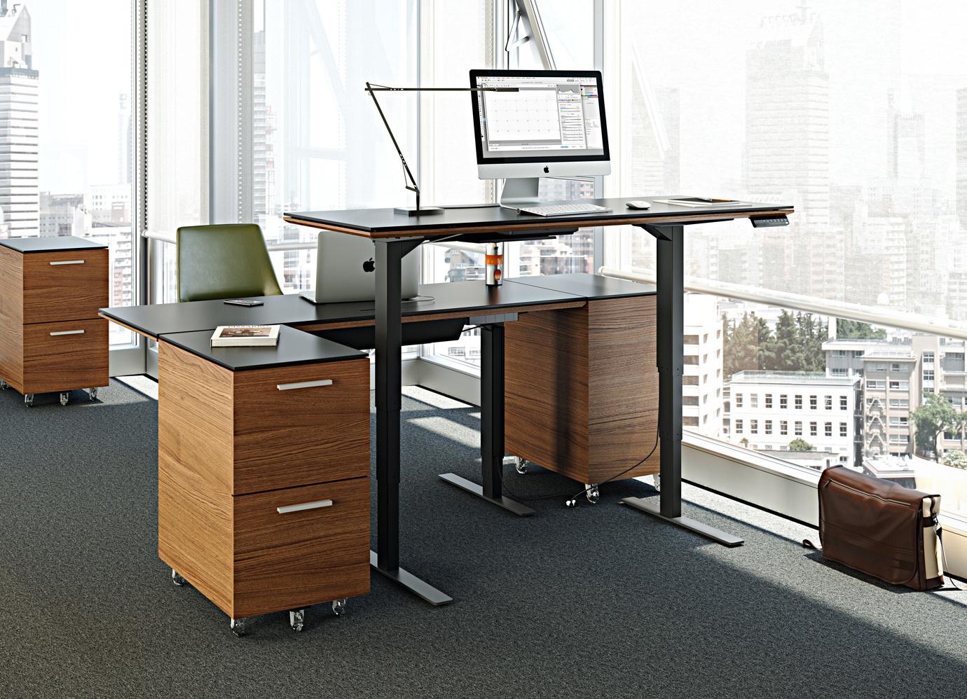 Sequel Lift Standing Desk 60 Quot X24 Quot 6051 Bdi Furniture