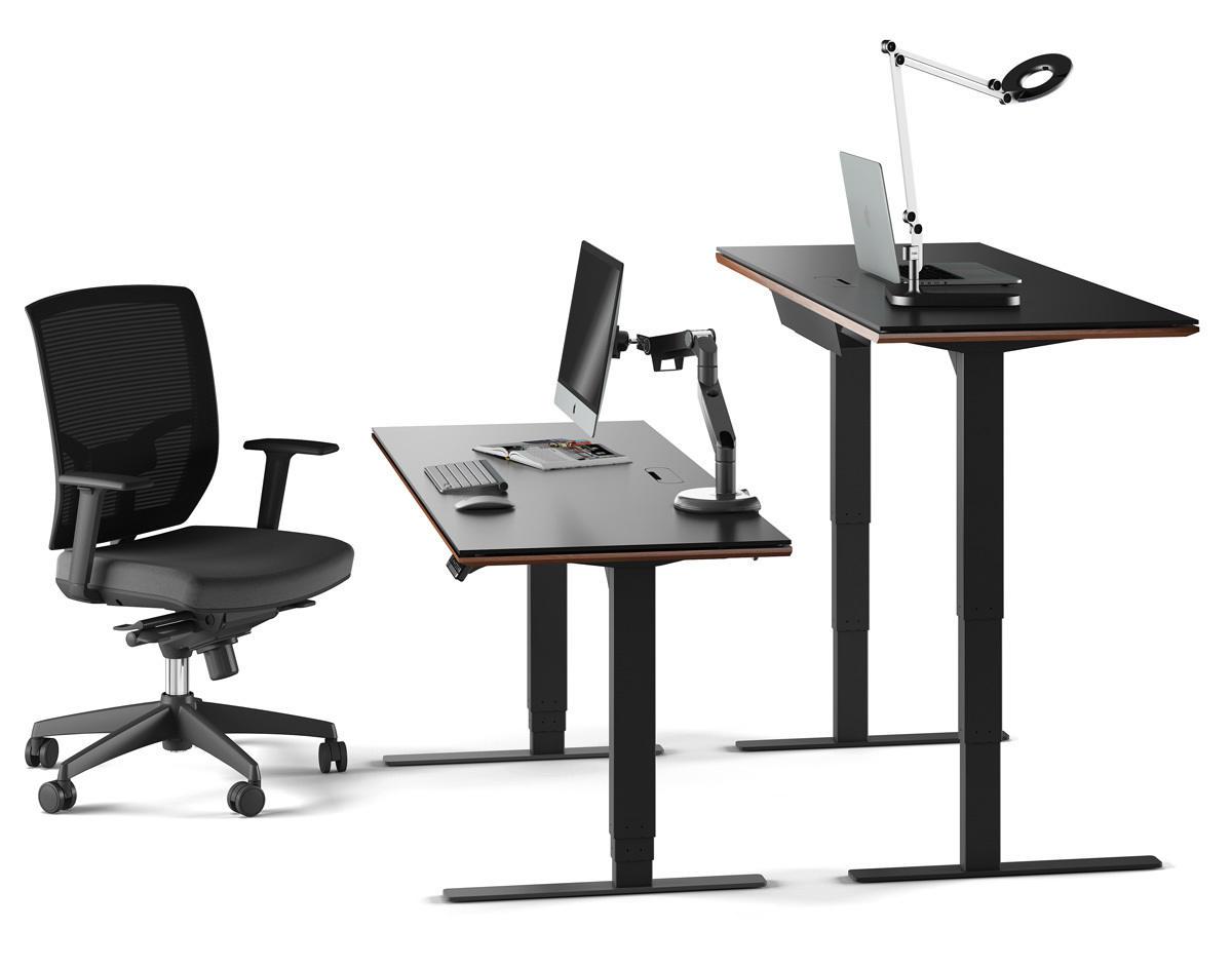 Sequel Lift Standing Desk Quotxquot BDI Furniture - Office table lift