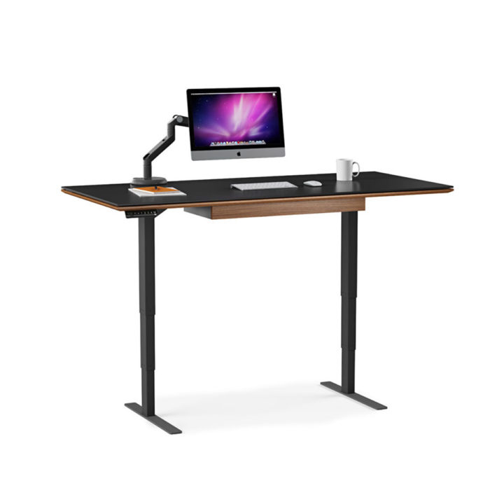 Cool Sequel Lift Standing Desk 66Quotx30Quot 6052 Bdi Home Interior And Landscaping Elinuenasavecom