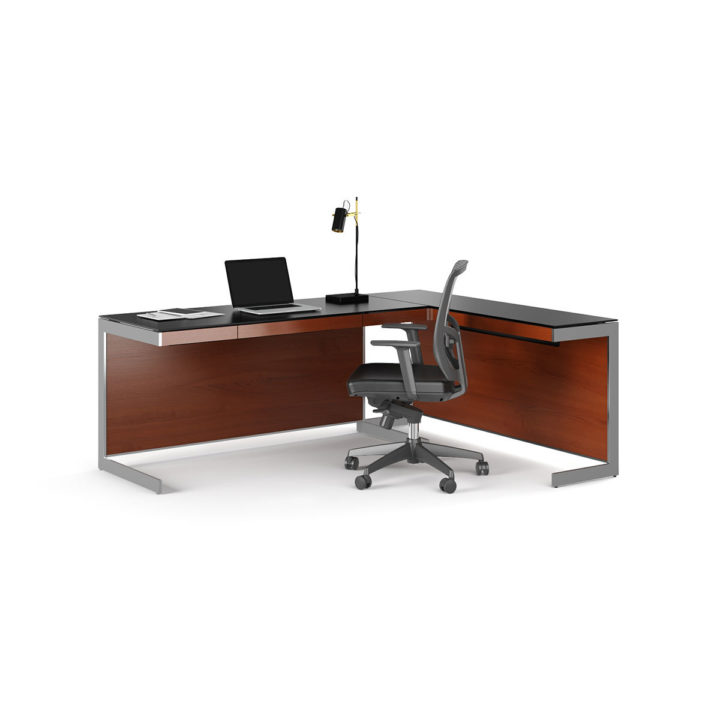... The Sequel Desk In Cherry By BDI With Return And Task Chair ...
