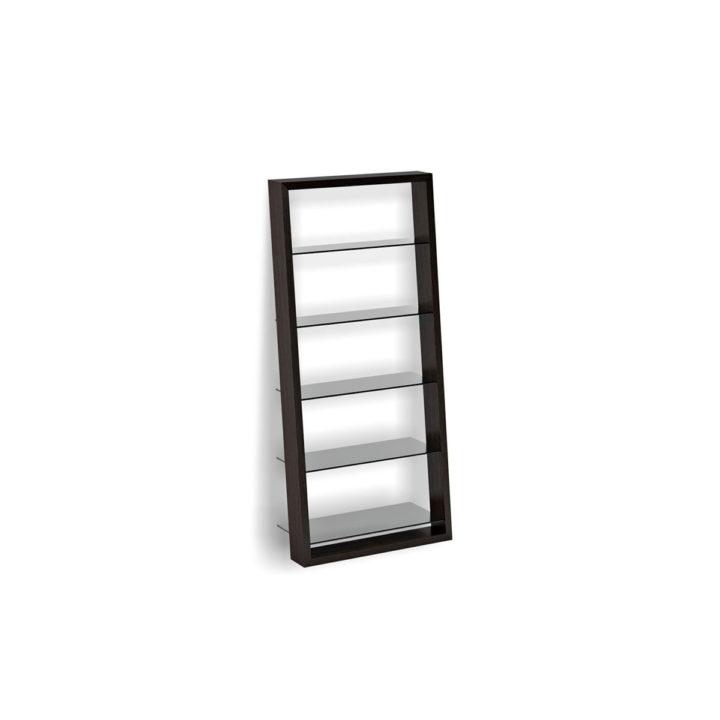 The Eileen Modern Leaning Shelf In Espresso By BDI Versatile Contemporary Unit