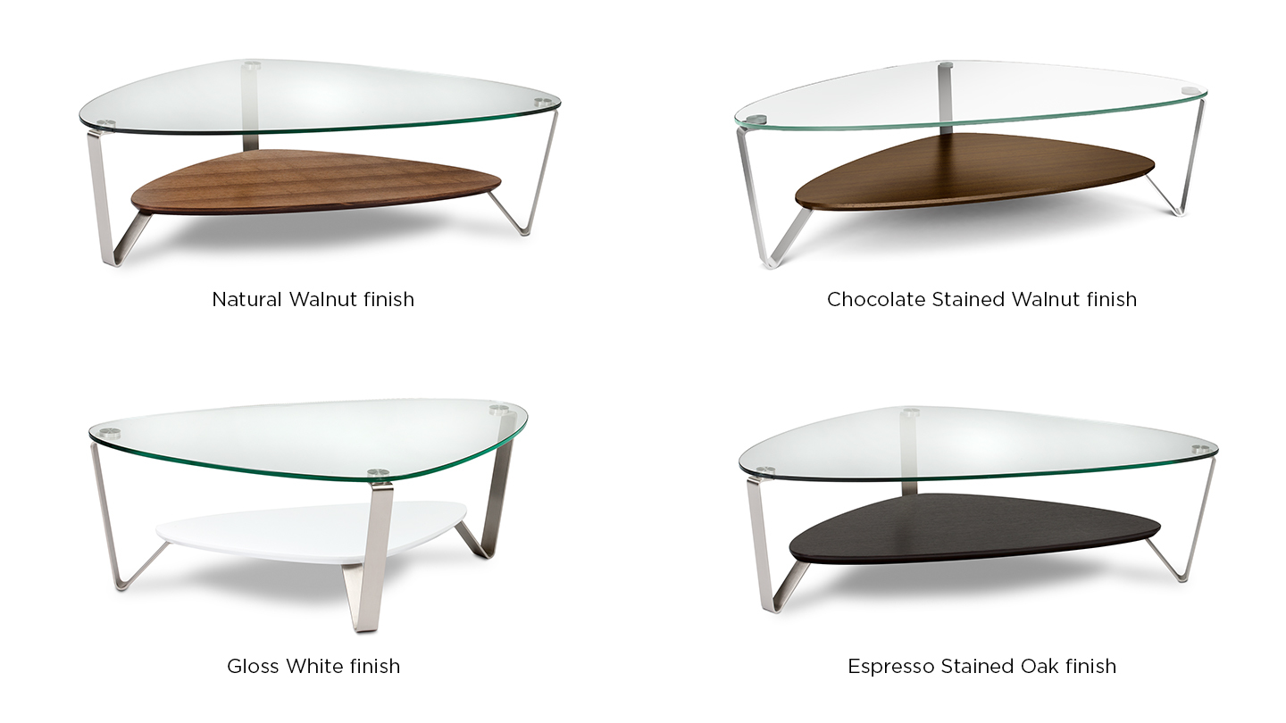 Triangle shaped coffee table affordable triangular shaped for Triangle end table plans