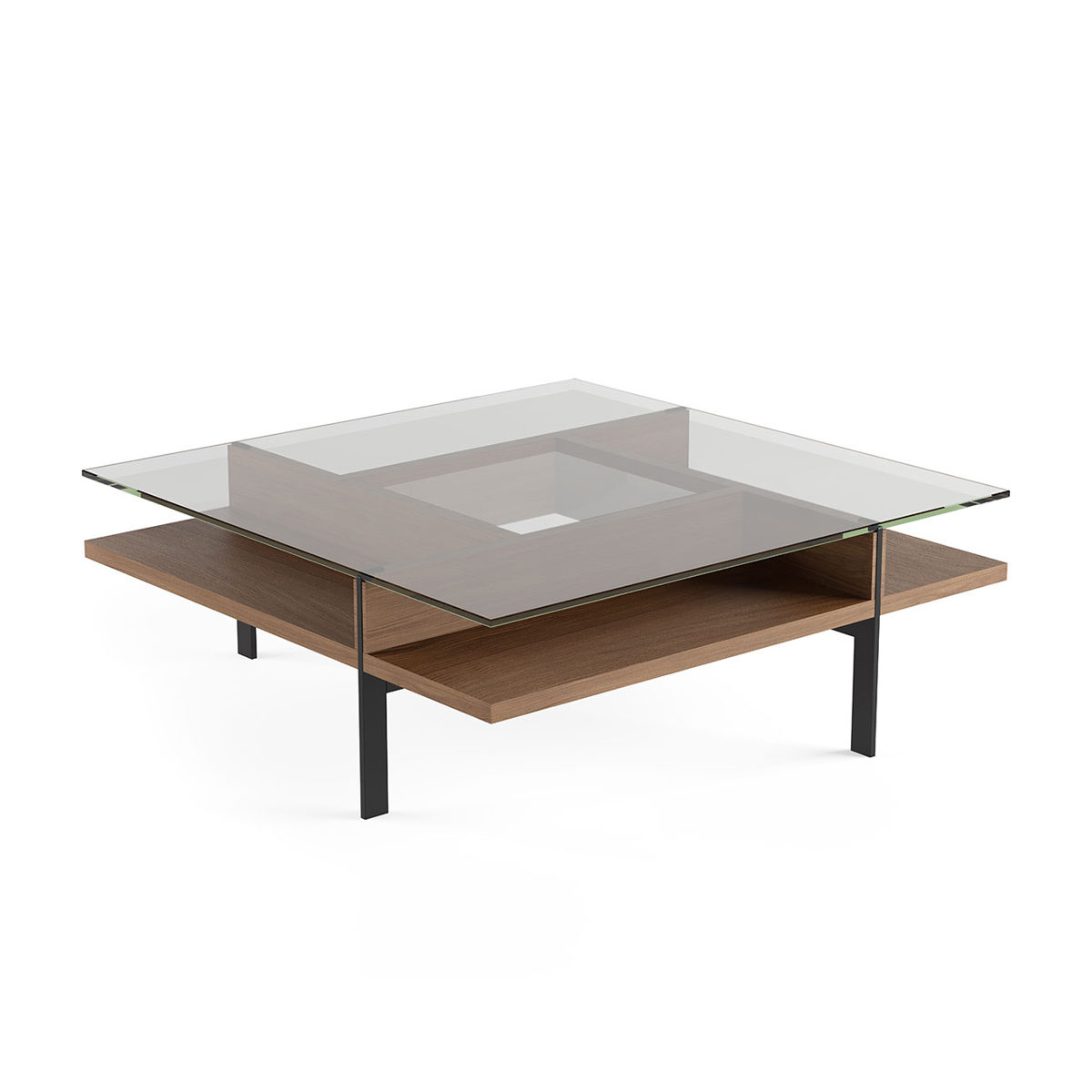 Terrace square coffee table 1150 bdi furniture watchthetrailerfo