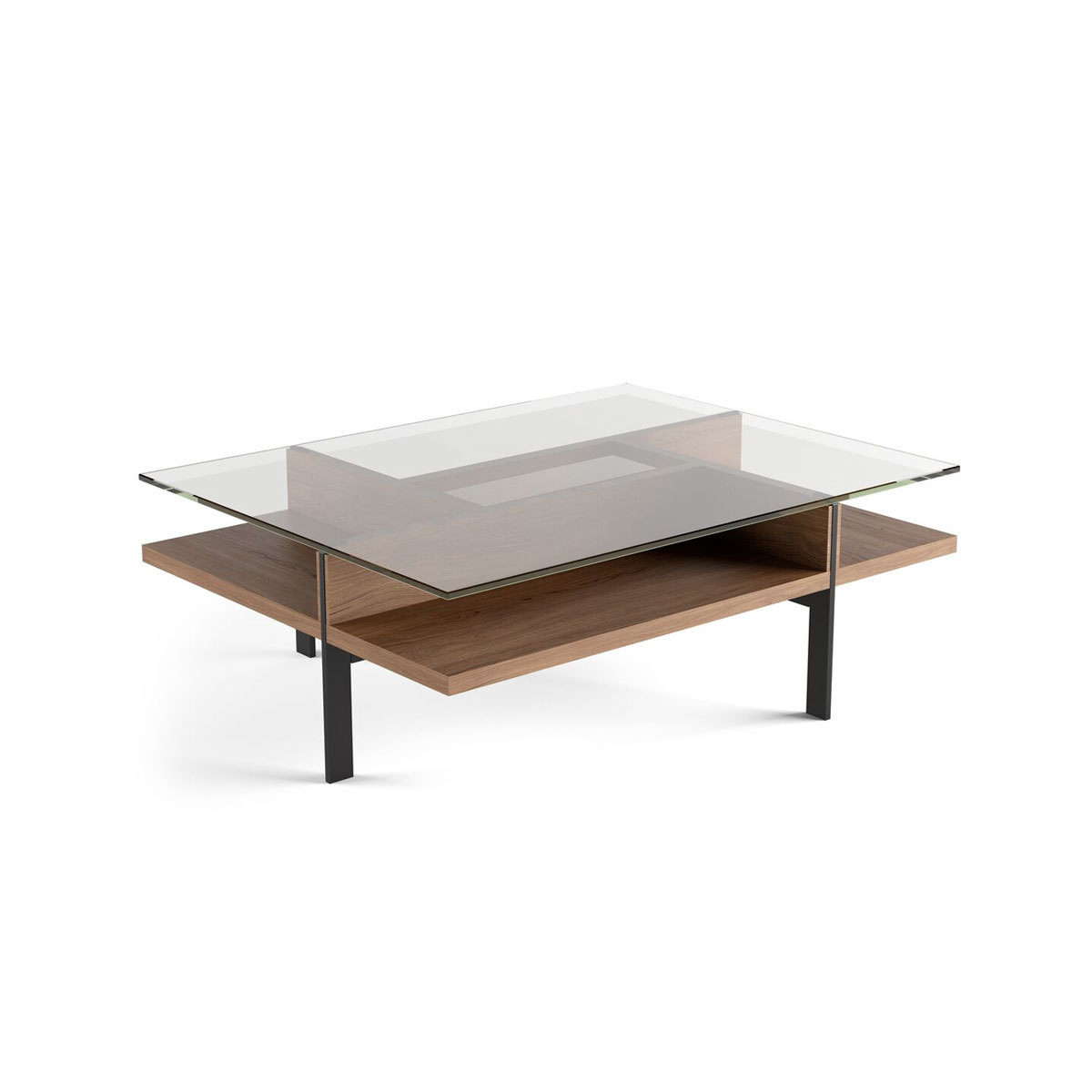 terrace rectangular coffee table 1152 bdi. Black Bedroom Furniture Sets. Home Design Ideas