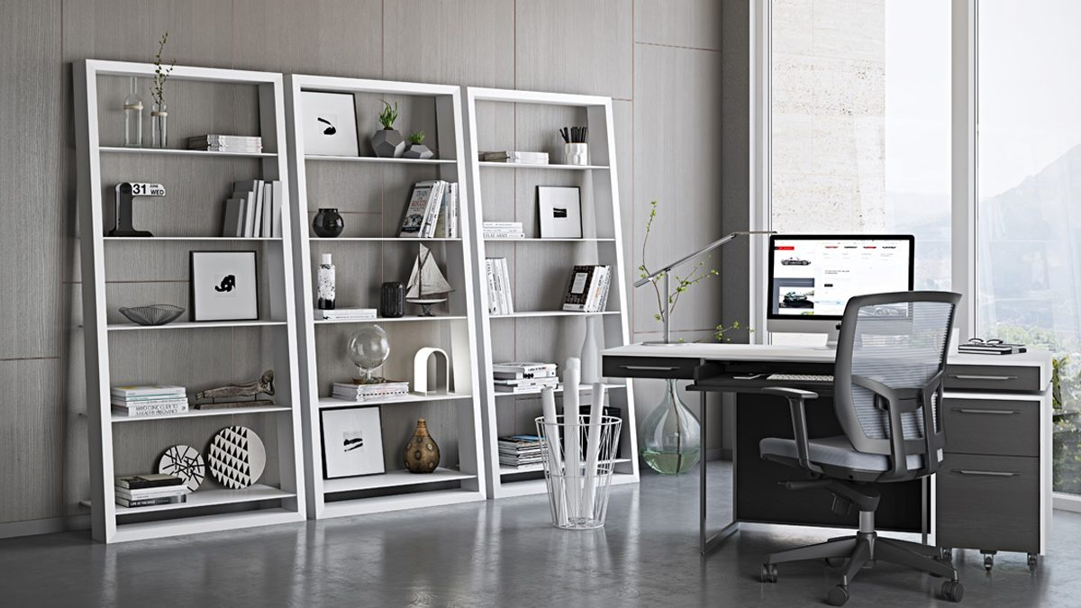 The Eileen Blanc Collection by BDI modern storage with sturdy construction