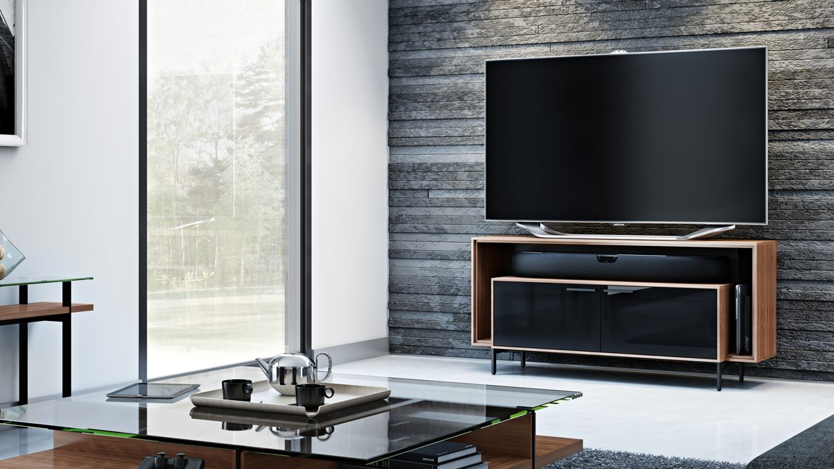 The Cavo Media Cabinet elegant Tv cabinet with adjustable shelving