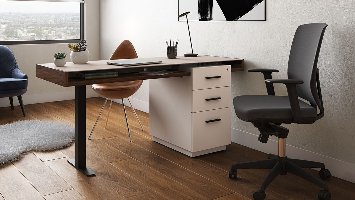 working  bdi - the duo office collection by bdi streamlined design for modern home office