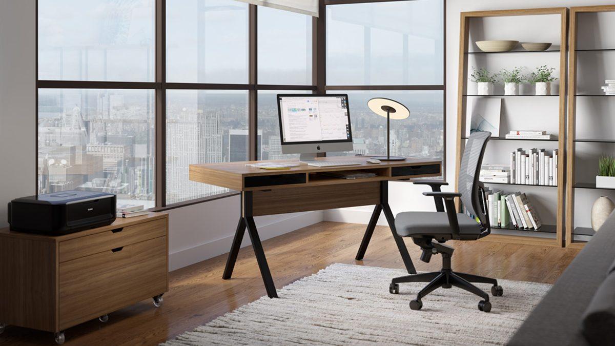 Wonderful Unique Office Desk Home. The Bdi Modica Collection Stylish Unique Design  For Full Home Office