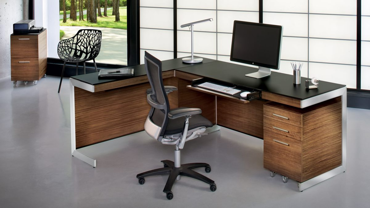 The sleek modern Sequel Office Collection by BDI & BDI Office Furniture Collections   BDI Furniture