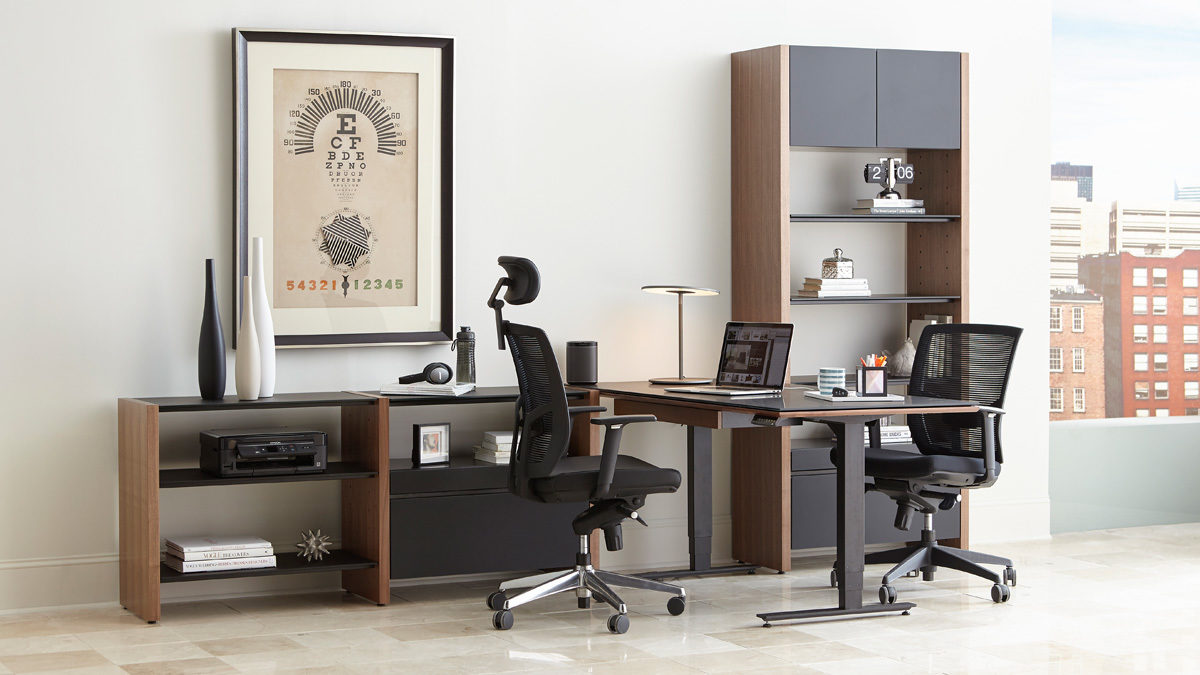 The Semblance Office Collection By BDI Versatile Design For Full Home Office