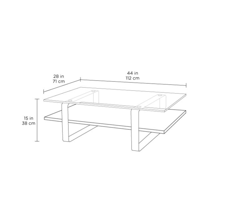 Radius Taupe Square Modern Coffee Table By Bdi: Stream Coffee Table 1642