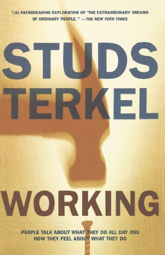 a review of studs terkels interview with mike literature What can i honestly say about studs terkel's not working play review: studs terkel's not working contests cover art contest interview contest nonfiction.