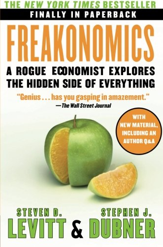 the three categories of incentives in freakonomics a book by steven d levit