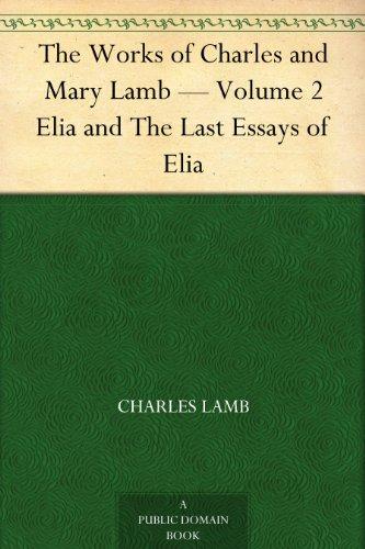 charles lamb last essays