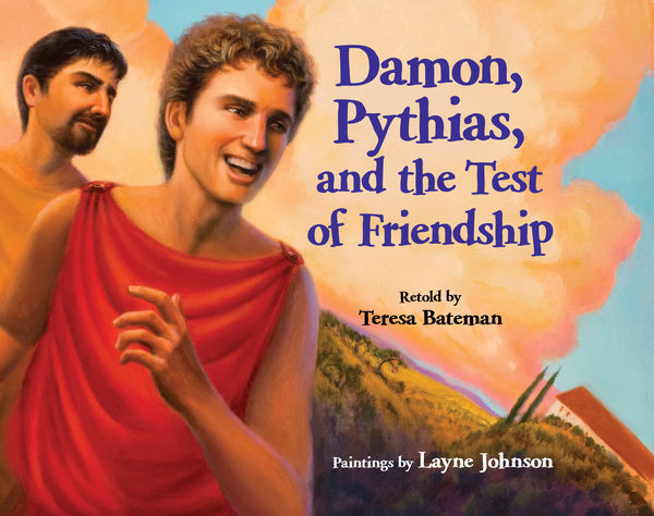 damon and pythias In the begining of the story my mood was that i felt sad because they were going to kill pythias for rebeling against the king or damon if pythias didn't return in the middle my mood was that i felt nervous because two robbers tide up pythias to a tree and he couldn't get to damon at the end i.