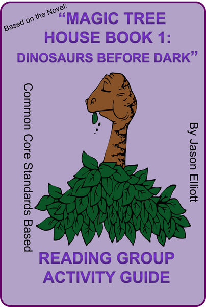magic tree house dinosaurs before dark book report
