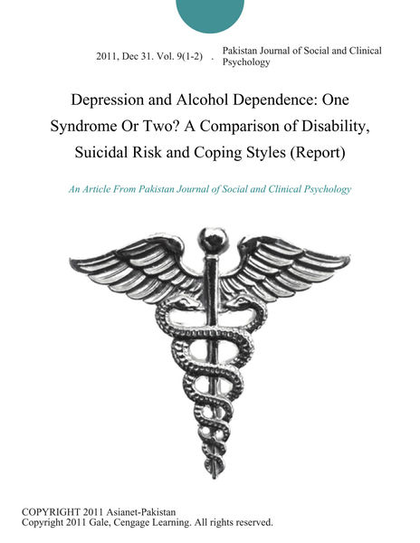 a description of the clinical depression and its effects