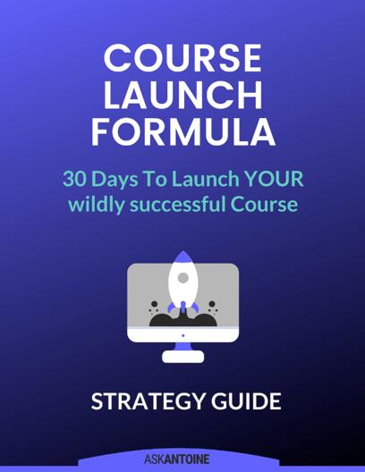 Course Launch Formula
