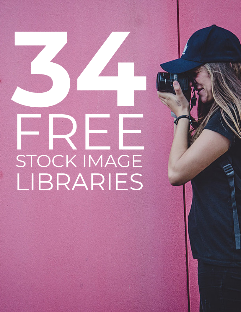 34 Free Stock Image Libraries