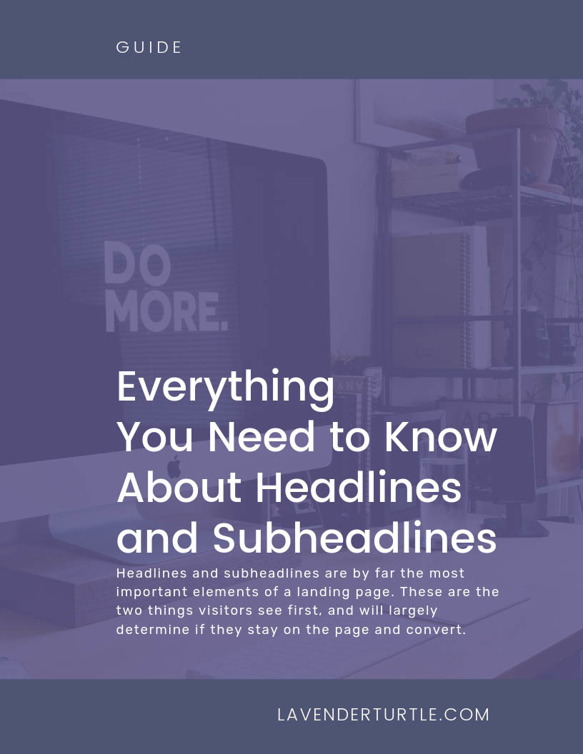 Everything You need to know about Headlines and Subheadlines