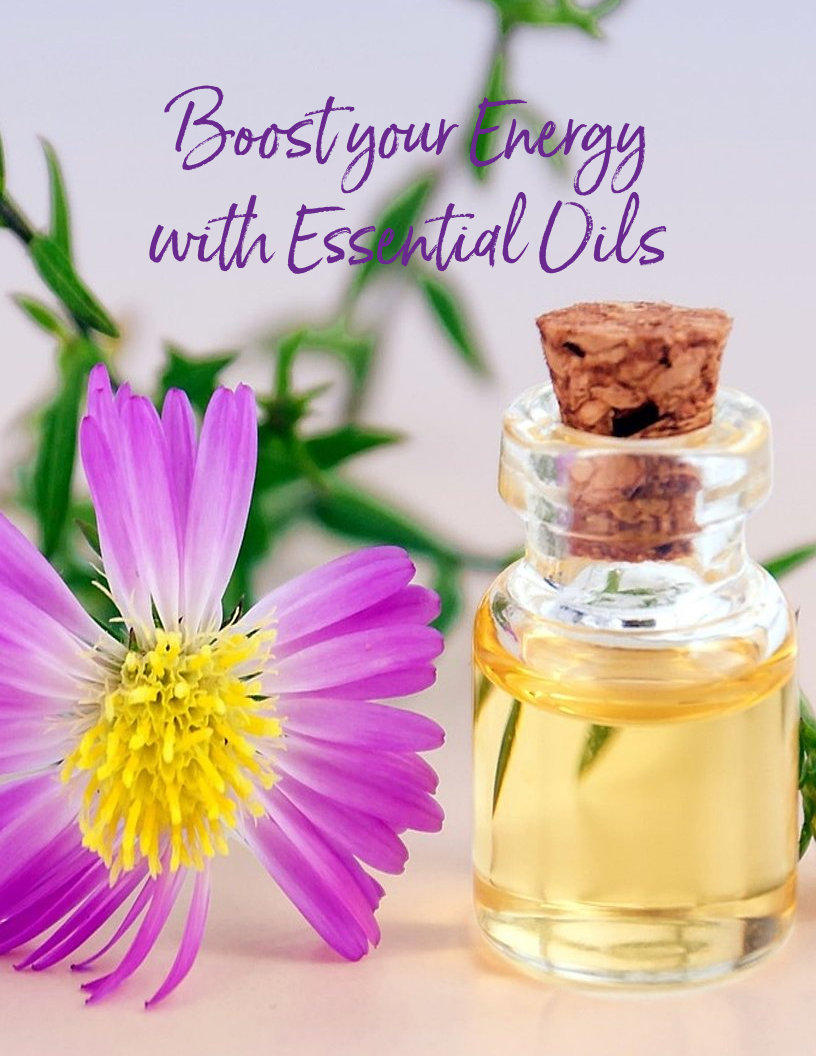 Boost your Energy levels with Essential Oils