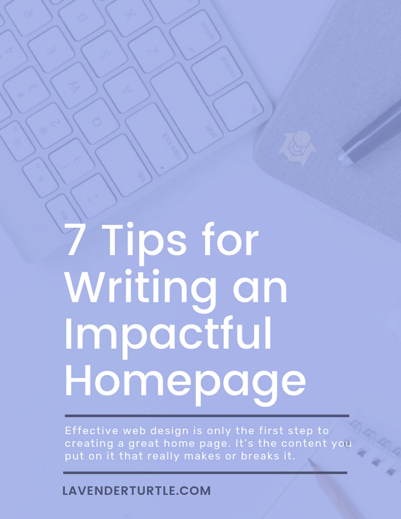 7 Tips for Writing an Impactful Homepage