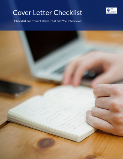 Cover Letters That Get You Interviews Checklist