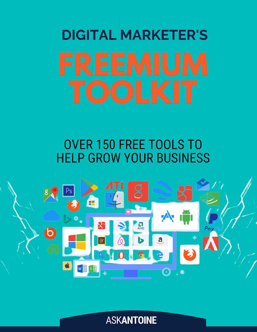 Digital Marketers Freemium Toolkit