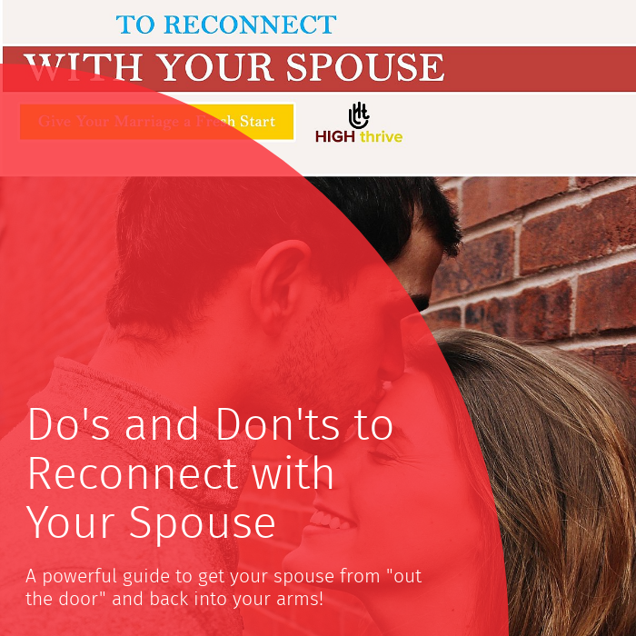 how to reconnect with spouse