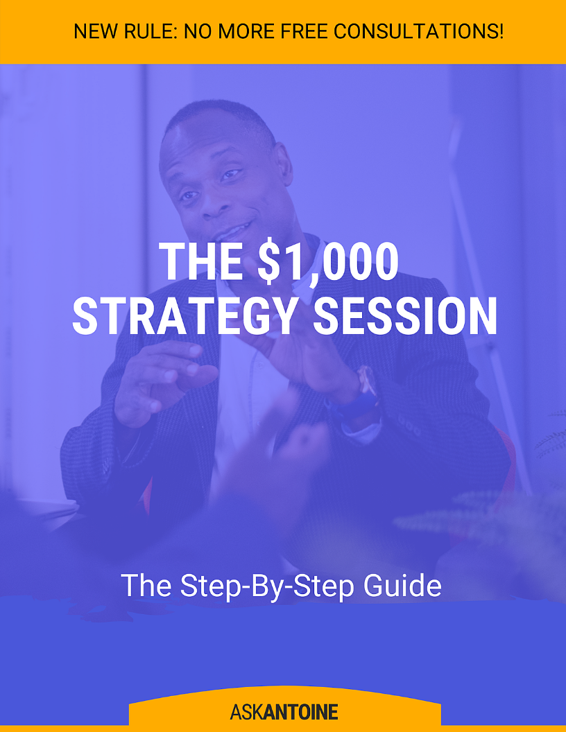 The $1,000 Strategy Session