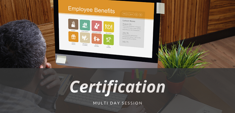 Employee Benefits Manager Certification Training Program