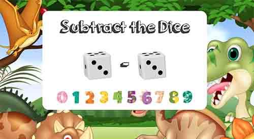 Dice Subtraction