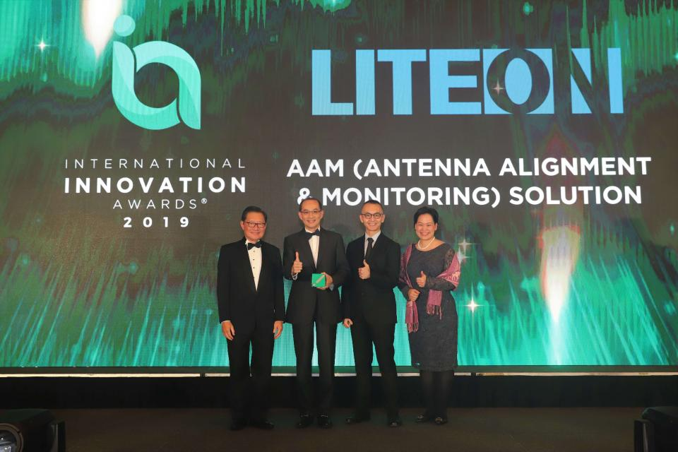 LITE-ON's Antenna Alignment and Monitoring Solution wins the 2019 International Innovation Award | BEAMSTART News
