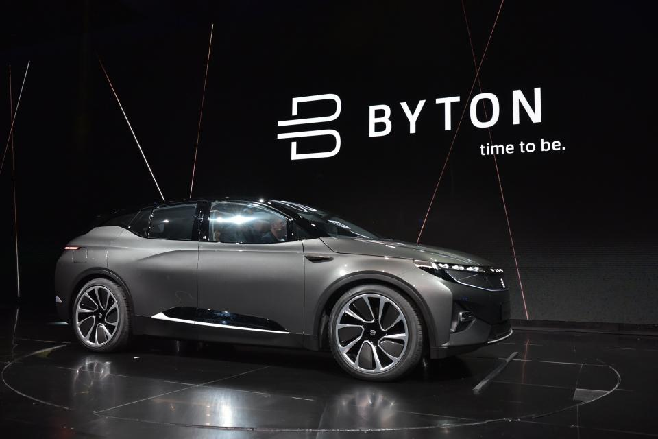 China's EV startup Byton raises huge investment from Japan's conglomerate Marubeni | BEAMSTART News