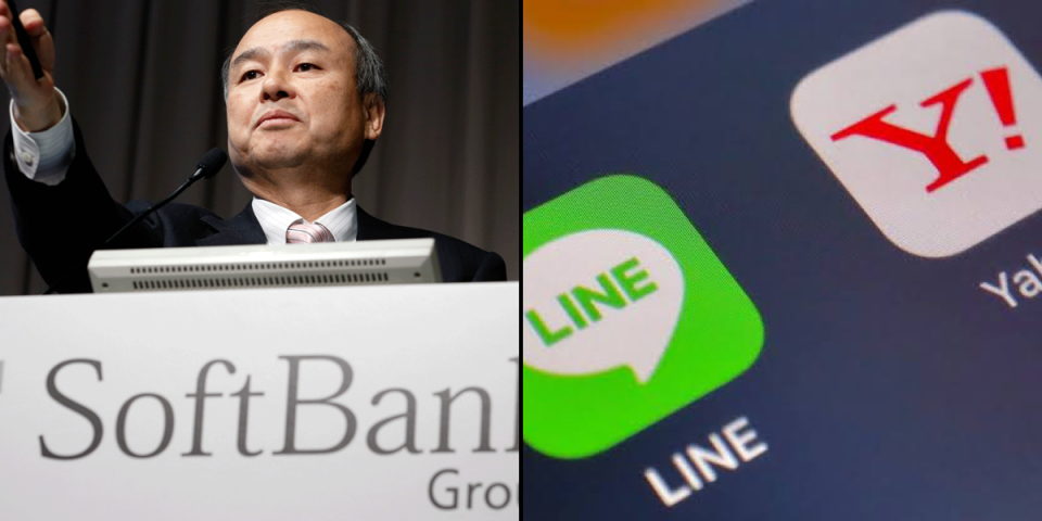 SoftBank's Yahoo Japan in merger talks with Line | BEAMSTART News