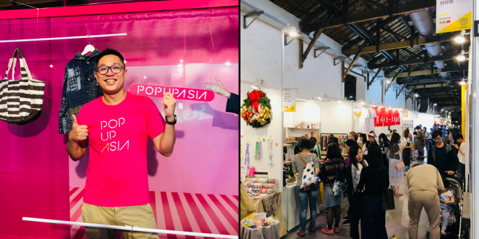 Pop Up Asia is quickly becoming one of Taiwan's largest lifestyle trade-shows.