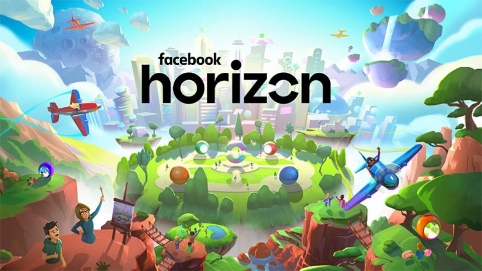 Facebook launches Horizon, a new massive-multiplayer VR game.