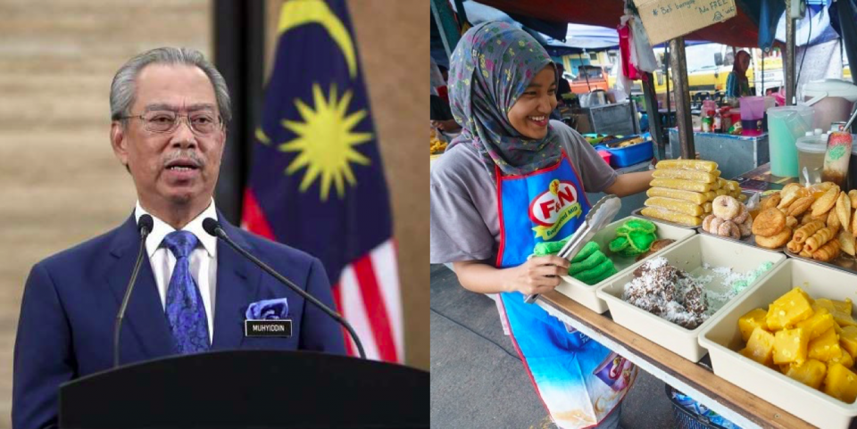 Malaysian government announces RM10 billion stimulus package for businesses.