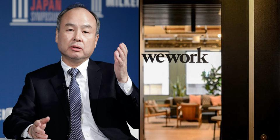 WeWork sues Softbank after pulling out from $3billion tender offer.