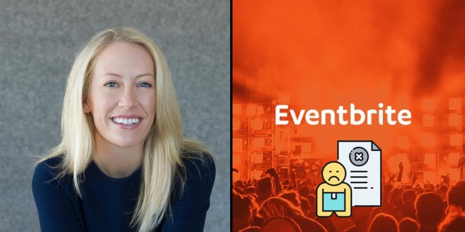 Eventbrite lays off half their workforce as the events industry shuts down.