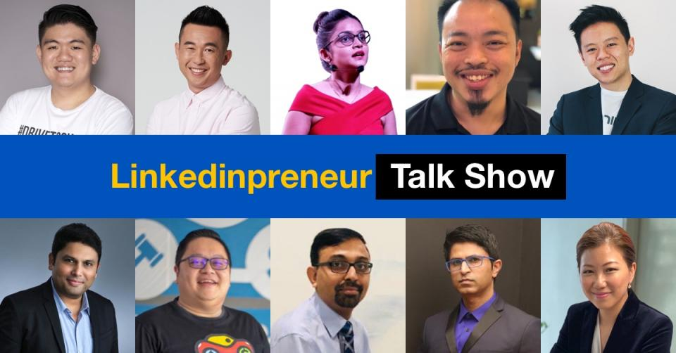 Linkedinpreneur Stories publishes videos by 9 business influencers across Asia.