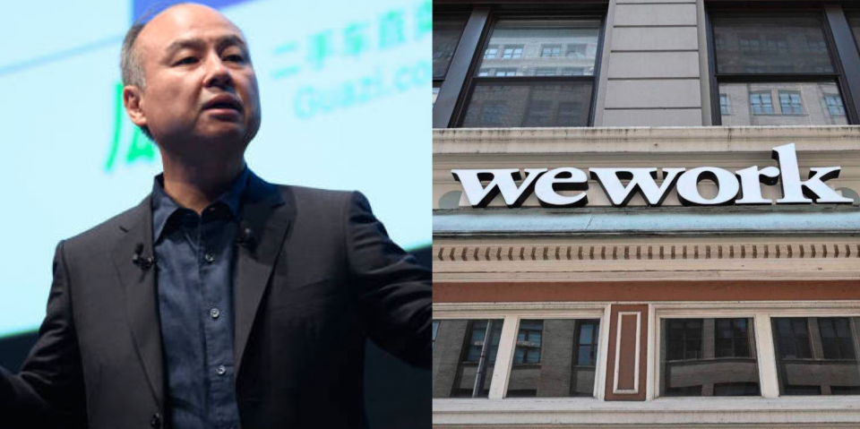 WeWork gets new financing of $1.1B from Softbank, revenue up by 9%.