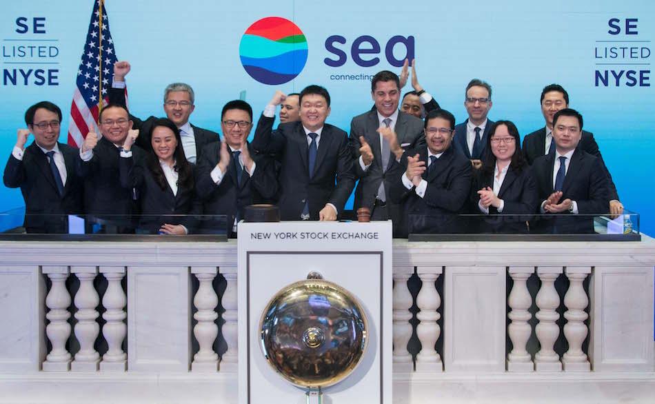 SEA Group has profitable Q2; revenue rises to $1.29 billion.