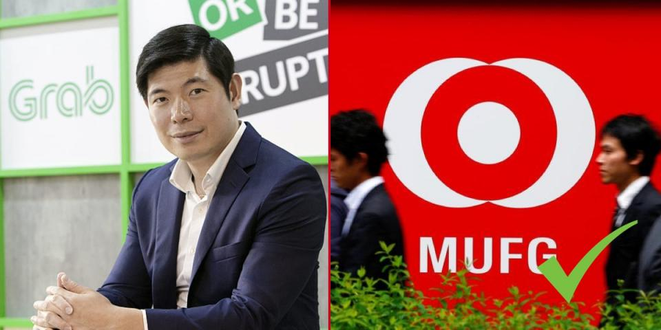 Japan's MUFG invests over $700 million in Grab.