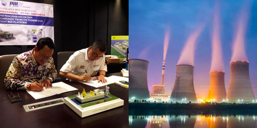 ThorCon International plans to build Indonesia's first commercial nuclear power plant
